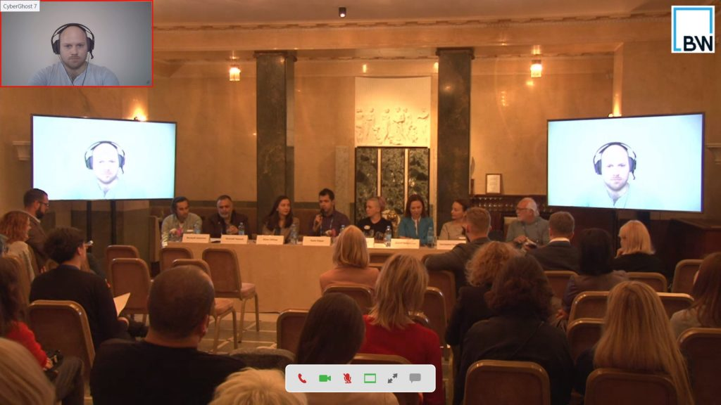 Round table at Baltic Weekend – Tech in Comm