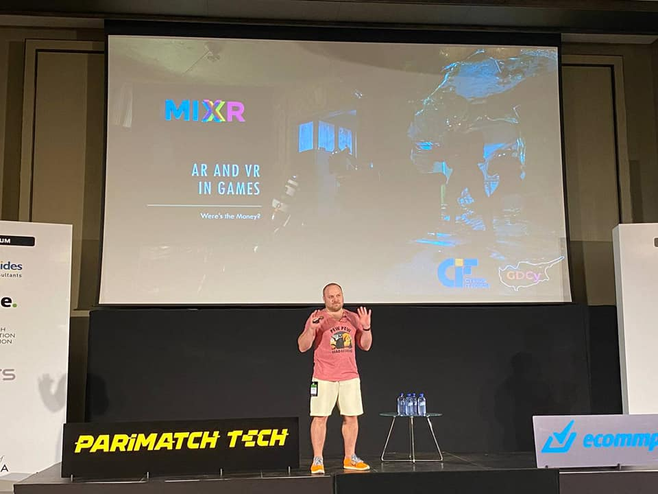 Session about AR-VR GameDev on Cyprus IT Forum
